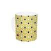 KESS InHouse Tossing Pennies II by Catherine McDonald 11 oz. Ceramic Coffee Mug