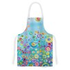 KESS InHouse Inner Circle by Catherine Holcombe Artistic Apron