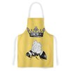 KESS InHouse Queen Bee by Catherine Holcombe Canary Artistic Apron