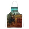 KESS InHouse Abstract Rhino by Danny Ivan Artistic Apron