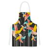 KESS InHouse Colorful Pinwheels by Danny Ivan Abstract Artistic Apron