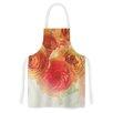 KESS InHouse Coral Ranunculus by Debbra Obertanec Floral Artistic Apron