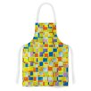 KESS InHouse Multi Color Blocking by Dawid Roc Geometric Artistic Apron