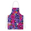 KESS InHouse Find the Tiger by Akwaflorell Purple Artistic Apron
