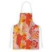 KESS InHouse Fishes Here, Fishes There by Akwaflorell Artistic Apron