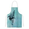 KESS InHouse Shark Record III by Graham Curran Artistic Apron