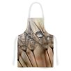 KESS InHouse Trinkets by Alison Coxon Flower Artistic Apron