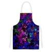 KESS InHouse Color Me Floral by Ebi Emporium Celestial Artistic Apron