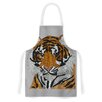 KESS InHouse Tiger by Art Love Passion Orange Artistic Apron