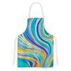 KESS InHouse Rainbow Swirl by Ingrid Beddoes Artistic Apron