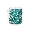 KESS InHouse Mandala Spin Jade by Patternmuse 11 oz. Ceramic Coffee Mug
