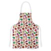 KESS InHouse Garden Floral by Jane Smith Plants Bugs Artistic Apron