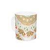 KESS InHouse Bohemian Bright by Miranda Mol 11 oz. Geometric Ceramic Coffee Mug