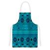 KESS InHouse Turquoise Nava by Nina May Tribal Artistic Apron
