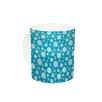 KESS InHouse Snowflake Sky by Julie Hamilton 11 oz. Ceramic Coffee Mug