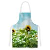 KESS InHouse Sunflower Field by Sylvia Cook Artistic Apron