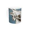 KESS InHouse Skulls by Sophy Tuttle 11 oz. Ceramic Coffee Mug