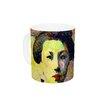 KESS InHouse Kimono Girl by Suzanne Carter 11 oz. Blue Ceramic Coffee Mug