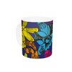 KESS InHouse Lovely Orchids by Yenty Jap 11 oz. Floral Ceramic Coffee Mug