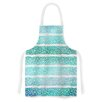 KESS InHouse Leafs from Paradise II by Pom Graphic Design Artistic Apron