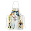 KESS InHouse Royal by Rebecca Fischer Rainbow Cat Artistic Apron