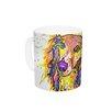 KESS InHouse Leela by Rebecca Fischer 11 oz. Daschund Ceramic Coffee Mug