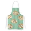 KESS InHouse Scallop Shells by Rosie Artistic Apron