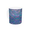 KESS InHouse Kaleidoscopic by Miranda Mol 11 oz. Geometric Ceramic Coffee Mug