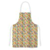 KESS InHouse Colorful Check by Julie Hamilton Checke Artistic Apron