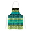 KESS InHouse Denin Diamond Gradient by Nina May Turquoise Emerald Artistic Apron