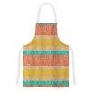 KESS InHouse Desert Splatter by Nina May Orange Artistic Apron