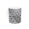KESS InHouse Silver Lace by Miranda Mol 11 oz. Ceramic Coffee Mug