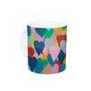 KESS InHouse More Hearts by Project M 11 oz. Ceramic Coffee Mug