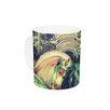 KESS InHouse Carousel by Robin Dickinson 11 oz. Horse Ceramic Coffee Mug