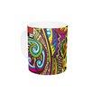 "KESS InHouse Ceramic Coffee Mug by Roberlan""Doodle 11 oz."
