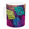 KESS InHouse African Beat by Emine Ortega 11 oz. Ceramic Coffee Mug