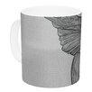 KESS InHouse Hummingbird by Belinda Gillies 11 oz. Ceramic Coffee Mug