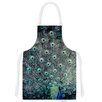 KESS InHouse Majestic by Ann Barnes Peacock Feather Artistic Apron
