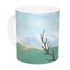 KESS InHouse Best Day Ever by Robin Dickinson 11 oz. Landscape Ceramic Coffee Mug