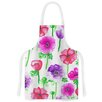 KESS InHouse Anemones by Anneline Sophia Flowers Artistic Apron
