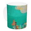 KESS InHouse Perrito by Carina Povarchik 11 oz. Dog Ceramic Coffee Mug