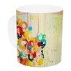 KESS InHouse Summer in Bloom by Ebi Emporium 11 oz. Ceramic Coffee Mug