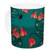 KESS InHouse Hummingbird by Yenty Jap 11 oz. Ceramic Coffee Mug