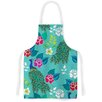 KESS InHouse Mexican Peacock by Anneline Sophia Rainbow Artistic Apron