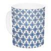 KESS InHouse Bohemian Blues III by Carolyn Greifeld 11 oz. Ceramic Coffee Mug