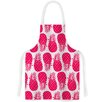 KESS InHouse Pinya Neon by Anchobee Magenta Artistic Apron