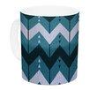 KESS InHouse Chevron Dance by Nick Atkinson 11 oz. Ceramic Coffee Mug