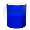 KESS InHouse Octopus Bulb by BarmalisiRTB 11 oz. Tentacles Ceramic Coffee Mug