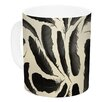KESS InHouse Feather by Skye Zambrana 11 oz. Ceramic Coffee Mug