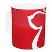 KESS InHouse Flying Angel by Miranda Mol 11 oz. Holiday Ceramic Coffee Mug